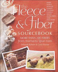 Fleece and fiber sourcebook - Deborah Robson och Carol Ekarius