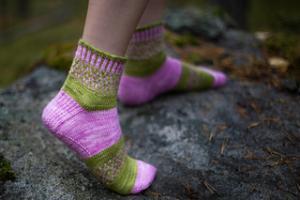 Ljungens sockor - mönsterblad