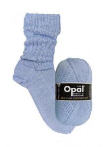 Himmelsblå 9932 - opal sockgarn 100g