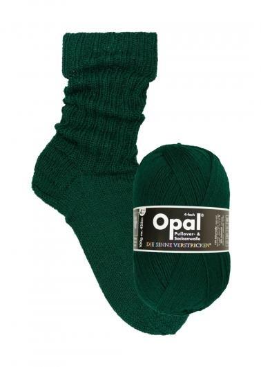Skogsgrön 9933 - Opal sockgarn 100g
