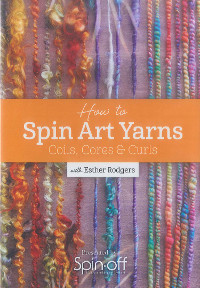 How to spin art yarns - dvd