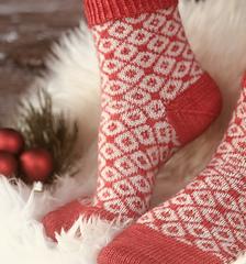 Sankta Lucias sockor - mönsterblad