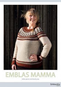 Emblas mamma - damtröja av Tina Hauglund
