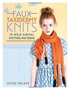 Faux taxidermy knits - Louise Walker