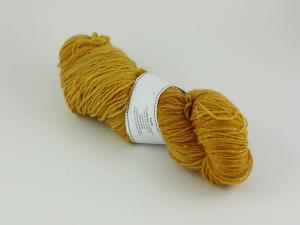 Curry - sockgarn glitter 100g