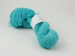Turkos - sockgarn glitter 100g