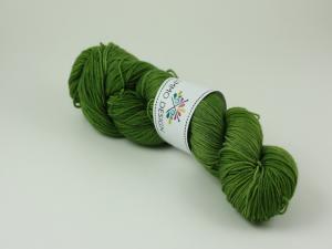 En mörkare grön - Merino sock 100g