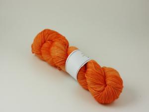 Orange - Merino sock 100g