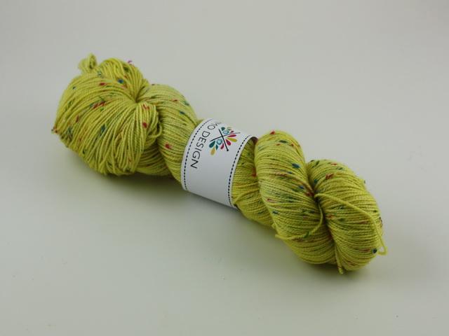 Citron - regnbågstweed 100g