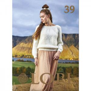 Istex nr 39 - mönsterbok med islandsmönster