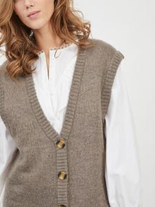 VIHIMA LONG KNIT VEST