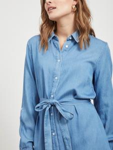 VIBISTA DENIM BELT DRESS/SU - NOOS