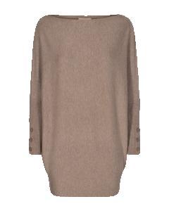 Oversize tröja FQSALLY-PU-BUTTON