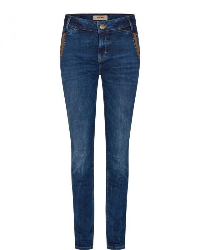 Etta Leather Jeans