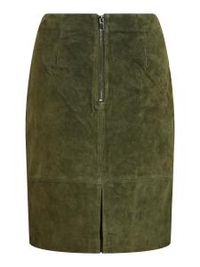 Moccakjol VIFAITH HW SUEDE SKIRT - NOOS