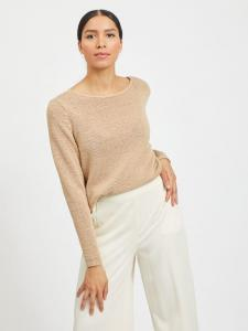 VISINOA BOATNECK L/S KNIT TOP - NOOS