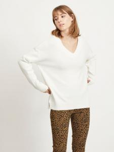 VIRIL OVERSIZE V-NECK KNIT TOP - NOOS