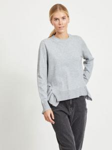 VIELASTA L/S KNIT TOP/PB