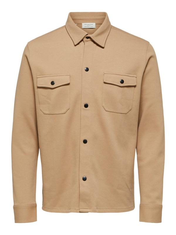 Overshirt SLHJAKE SWEAT JACKET W