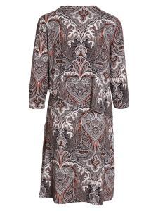 Paisley mönstrad klänning 210180