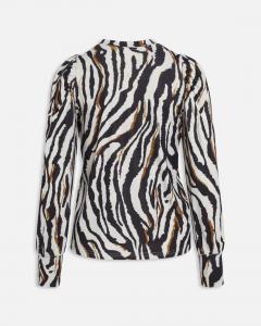 Zebra mönstrad topp