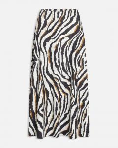 Zebra mönstrad kjol