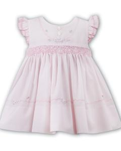 Rosa babyklänning Anja