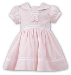 Sjömansklänning Hilma - rosa