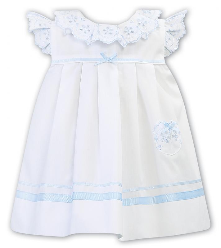 Sjömansklänning Ronja - ljusblå