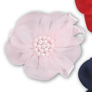 Hårspänne Blomma - rosa
