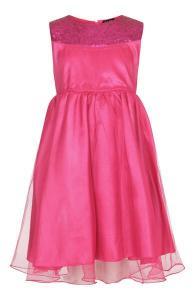 Festklänning Lisa - ceriserosa
