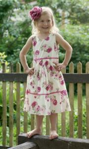 Barnklänning Pion