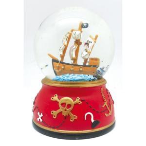 Speldosa glob Pirat