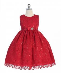 Festklänning Katarina - röd