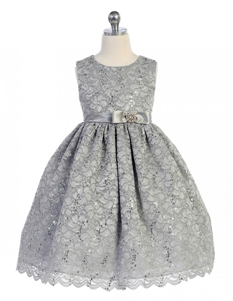 54c9e0f69ad3 Festklänning Katarina - silvergrå