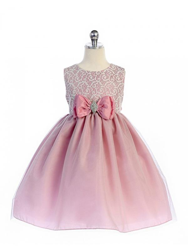 Festklänning Eva - rosa