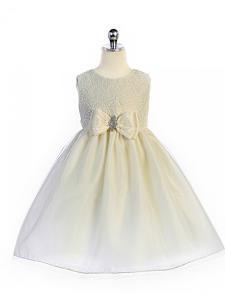 Festklänning Eva - gräddvit