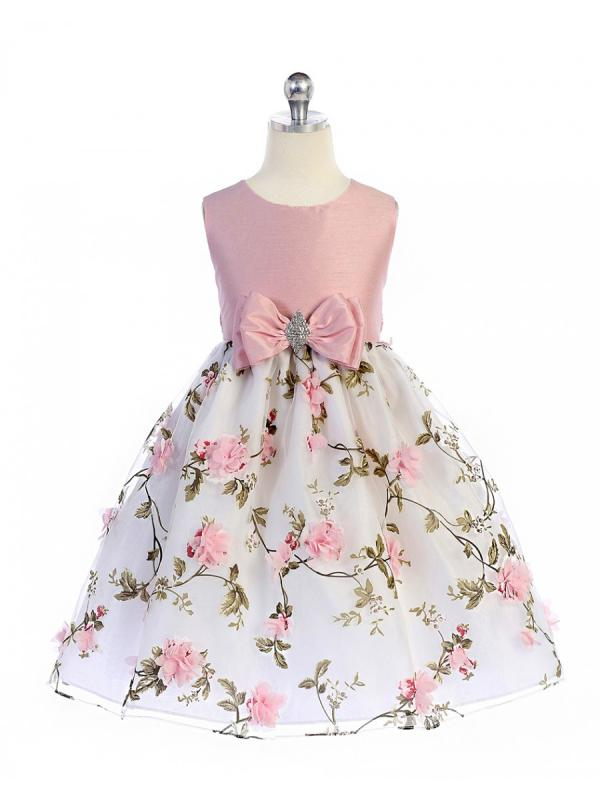 Barnklänning Amanda - Rosa