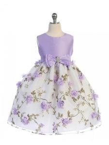 Barnklänning Amanda - lila