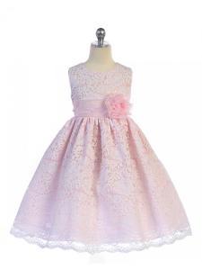 Rosa barnklänning Paulina