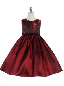 Festklänning Hedvig - vinrött