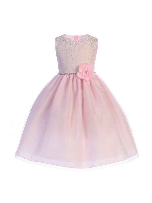 Rosa barnklänning Amira
