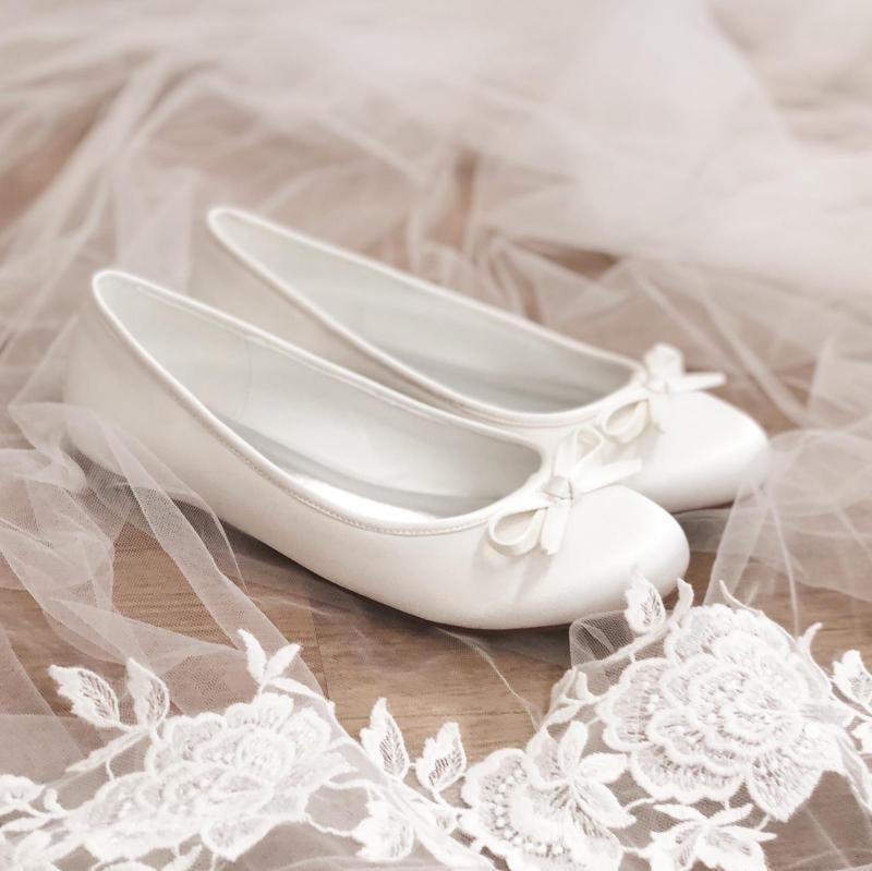 Brudskor Chanty ballerinaskor