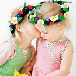 Blomsterkrans Oskar&Ellen