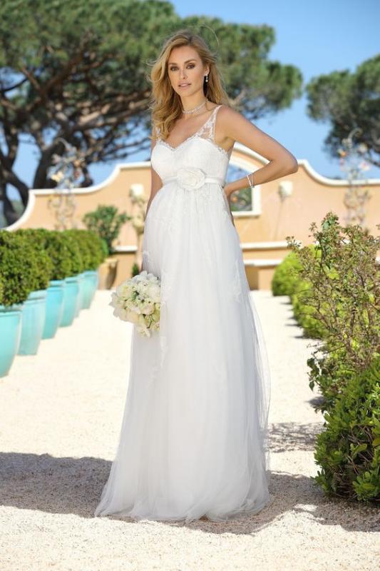 Brudklänning Tiffany - gravidklänning