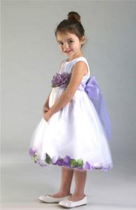 Näbbklänning Dalia - lila