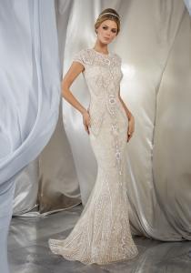 Musidora bröllopsklänning