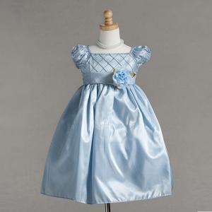 Finklänning / näbbklänning Hanna - ljusblå
