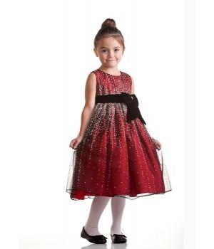 Festklänning Fredrika - röd