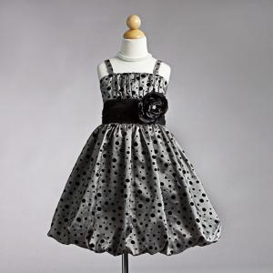 Festklänning Sabrina - silvergrå